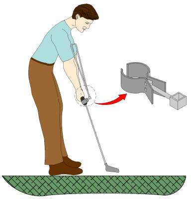Golf Putting Training Device